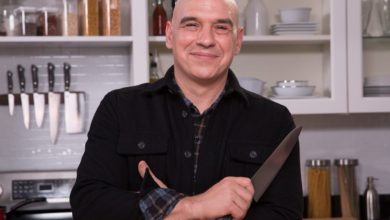 Michael Symon's Wiki: Wife